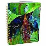 Papaya Art Flora Bird Spiral Notebook (NB020)