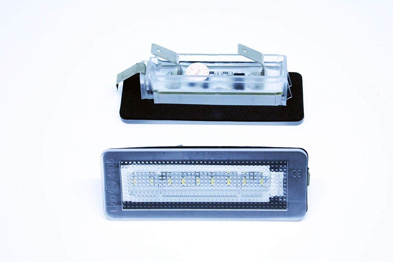 Vinstar 2X LED Kennzeichenbeleuchtung Smart 450 451 Fortwo Brabus Canbus