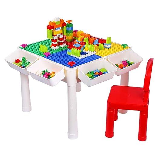 SNAEN Juego de mesa de actividades multiusos para niños, para ...
