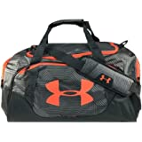 Under Armour Undeniable Duffle 3.0 Gym Bag, Gray/Orange, Medium