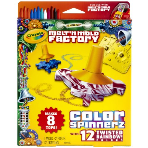 Crayola Melt 'N Mold Color Spinnerz Expansion Pack by Crayola
