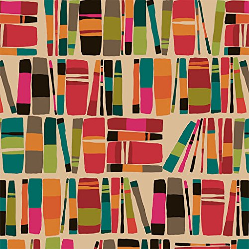 Bookworm Library Gift Wrapping Paper Roll - 24