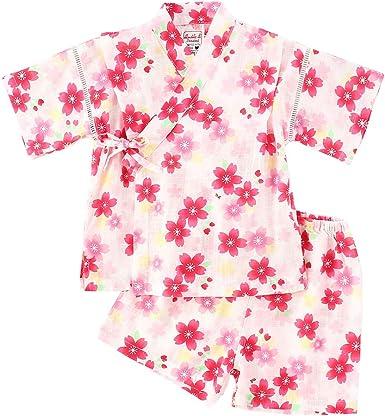 Camisa del Bebé Dormir Set Verano Japonesa Pijamas Pijama para Bebé Infantil Mono Algodón Kimono Estilo Japonés Ropa: Amazon.es: Ropa y accesorios