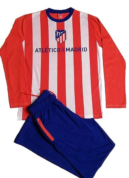Atlético Madrid Pijama Hombre - Adulto M L  Amazon.es  Ropa y accesorios 86a6df72fe8e3
