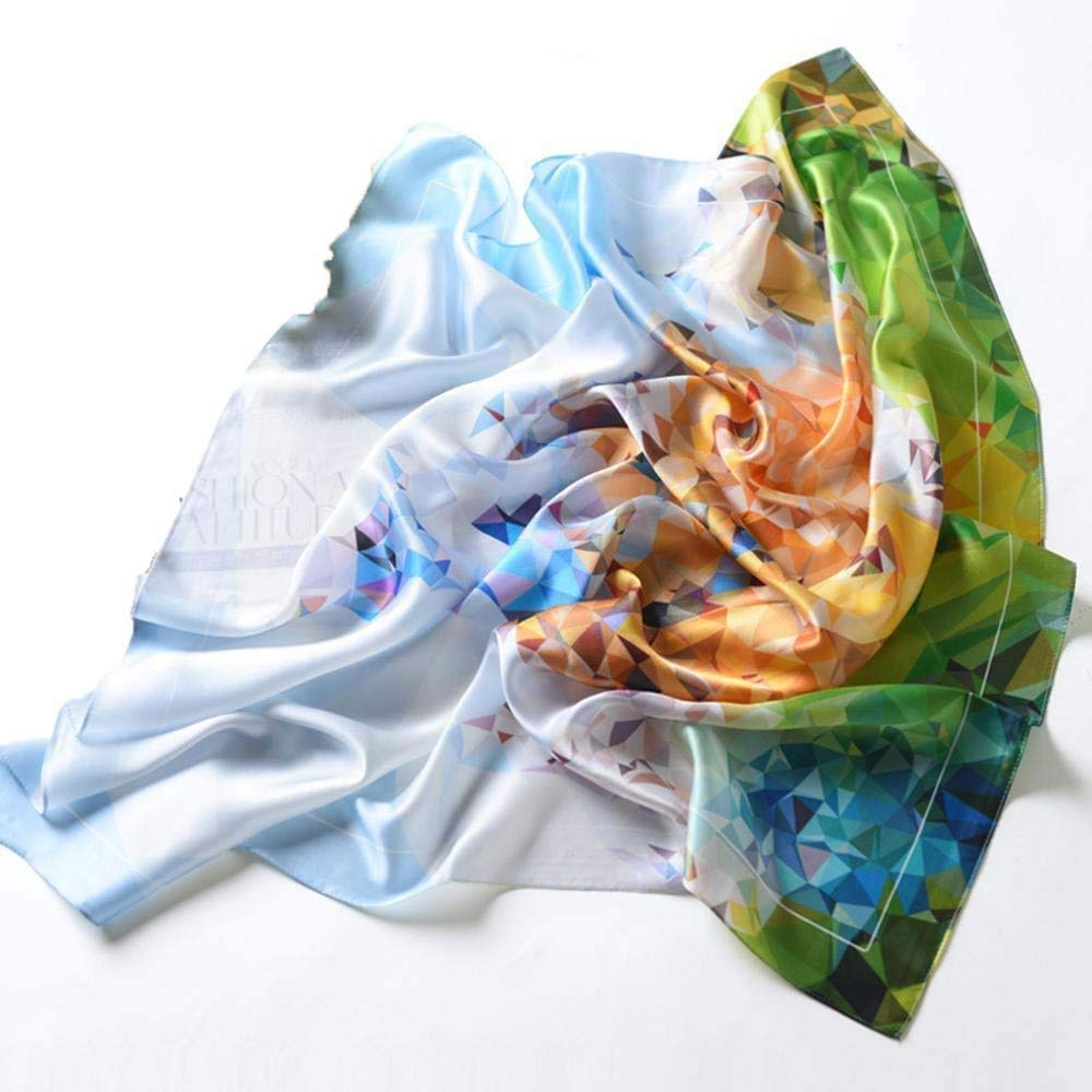Clear Paioup Ladies Silk shawl silk scarf send family friends birthday gift Perfectly expresses unique temperament