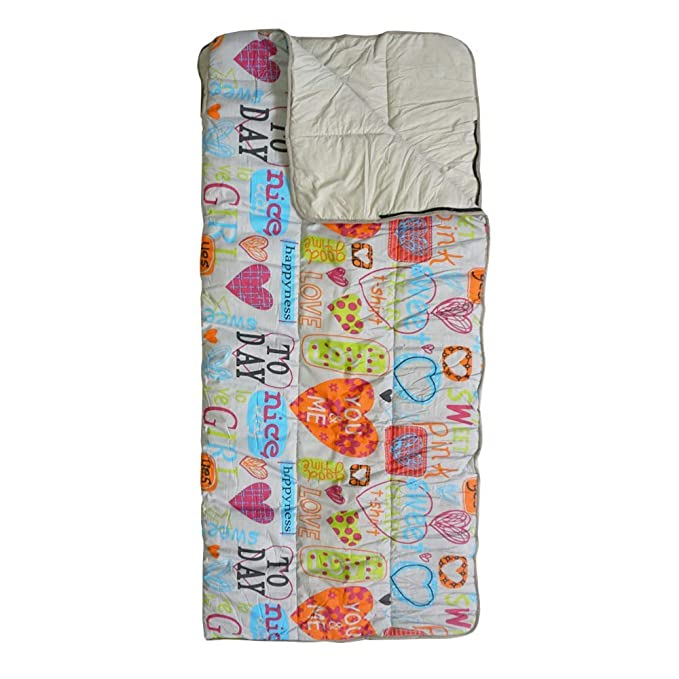Saco de Dormir Infantil Sweet Love Estampado: Amazon.es: Deportes y aire libre