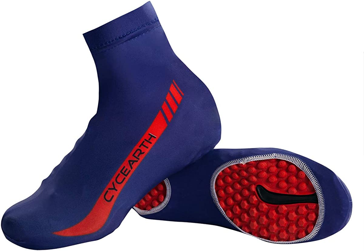 CYCEARTH Cycling Shoe Covers Men Bike Bicycle Overshoes