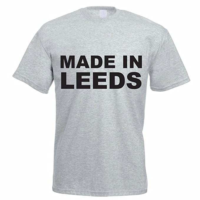 1771e6c2 MADE IN LEEDS - West Yorkshire / Novelty / Funny Gift Idea Men's T-Shirt