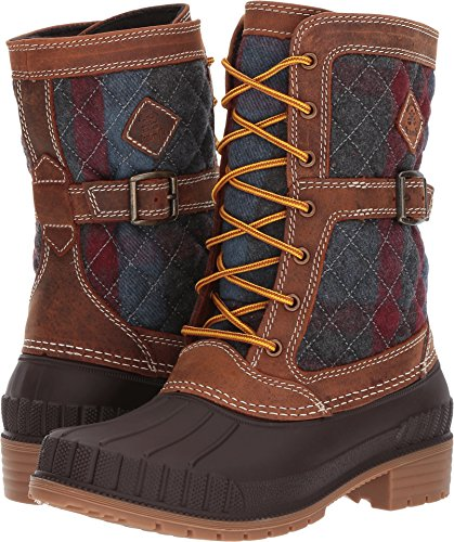 Kamik Women's Sienna Waterproof Winter Boot Brown 8 M US by Kamik