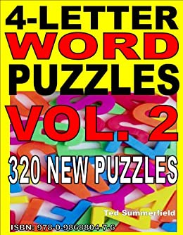 More 4 Letter Word Puzzles Kindle Edition By Ted Summerfield