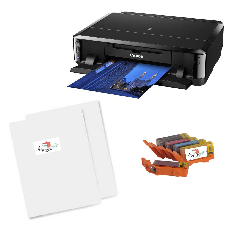 Un Kit para Empezar imprimiendo con Tinta Comestible Sobre Papel ...