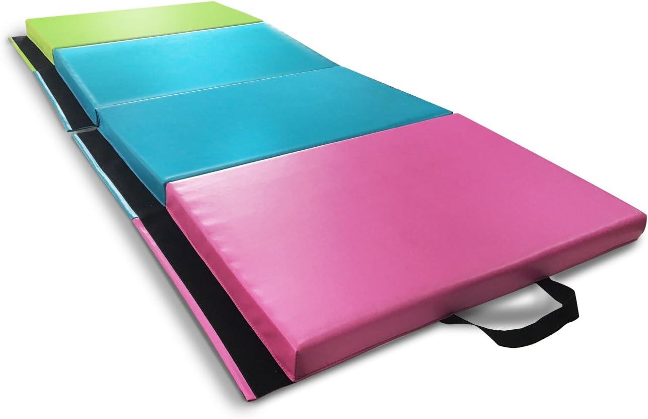 ZEYU SPORTS Kids Children Gymnastics Mat Home Gym Mat Exercise Training Mat Tumbling Mat, 2 X 5.8 X1.8