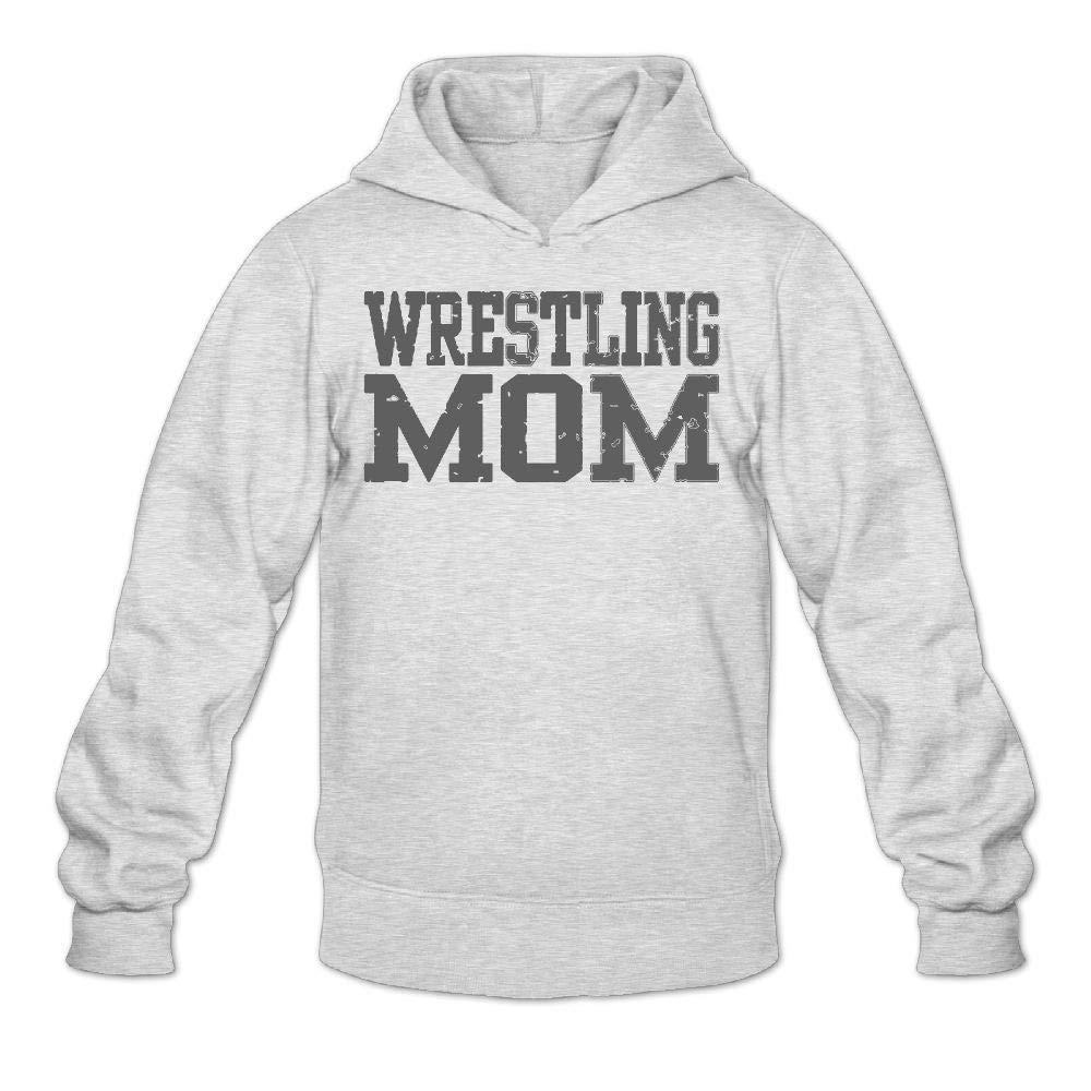 Kkidj Ooii Sweatshirts Hoodies Long Sleeve Wrestling Mom 3Printed Mans Winter by Kkidj Ooii