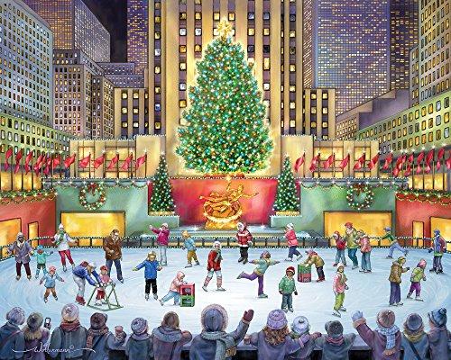 Rockefeller Center Jigsaw Puzzle 1000 Piece (Artwork Rockefeller Center)