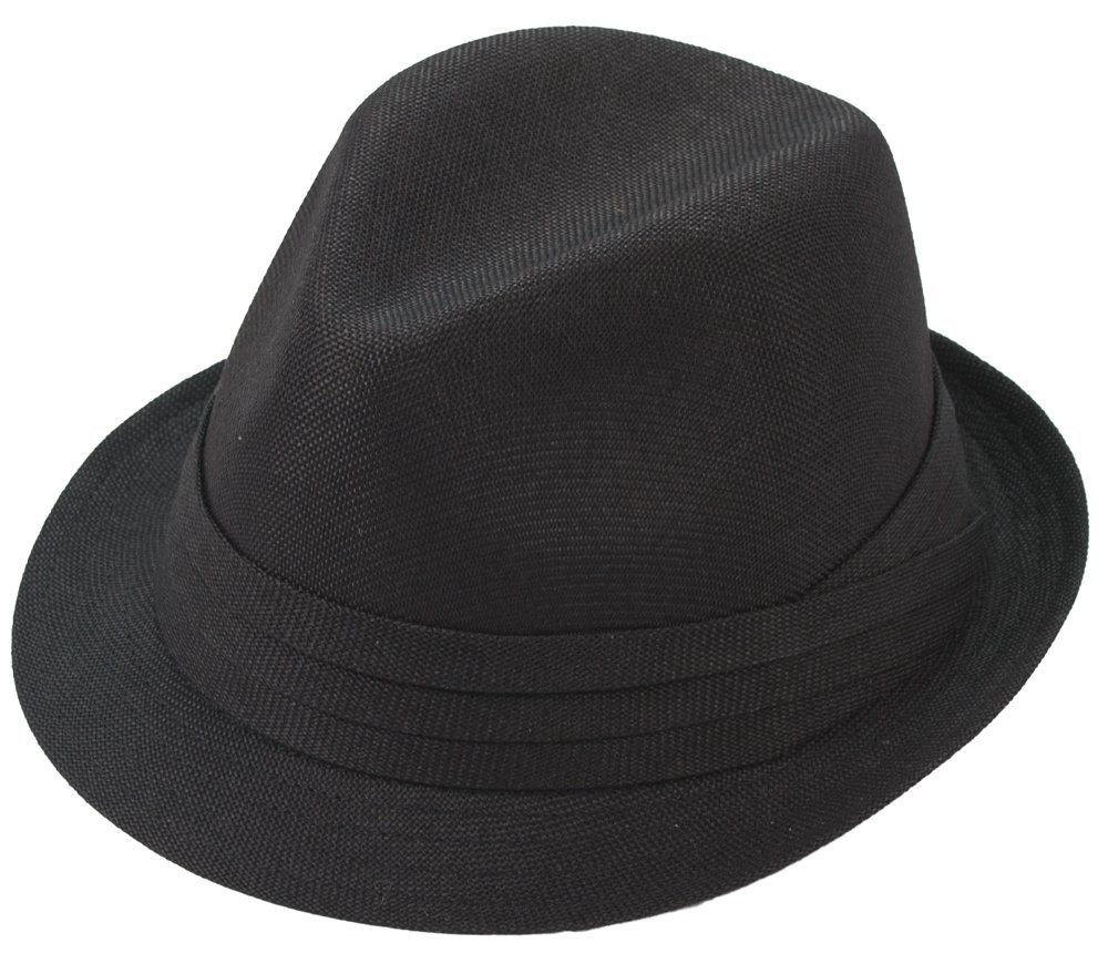 Milani Fedora Hat with Matching Band FD162-Wh1-  P 11e7c15a99b