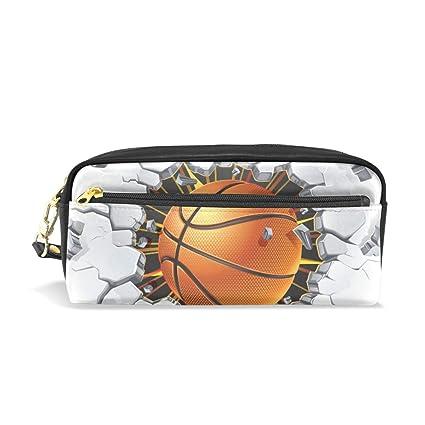 Ahomy - Estuche para lápices de baloncesto para niñas y niños ...