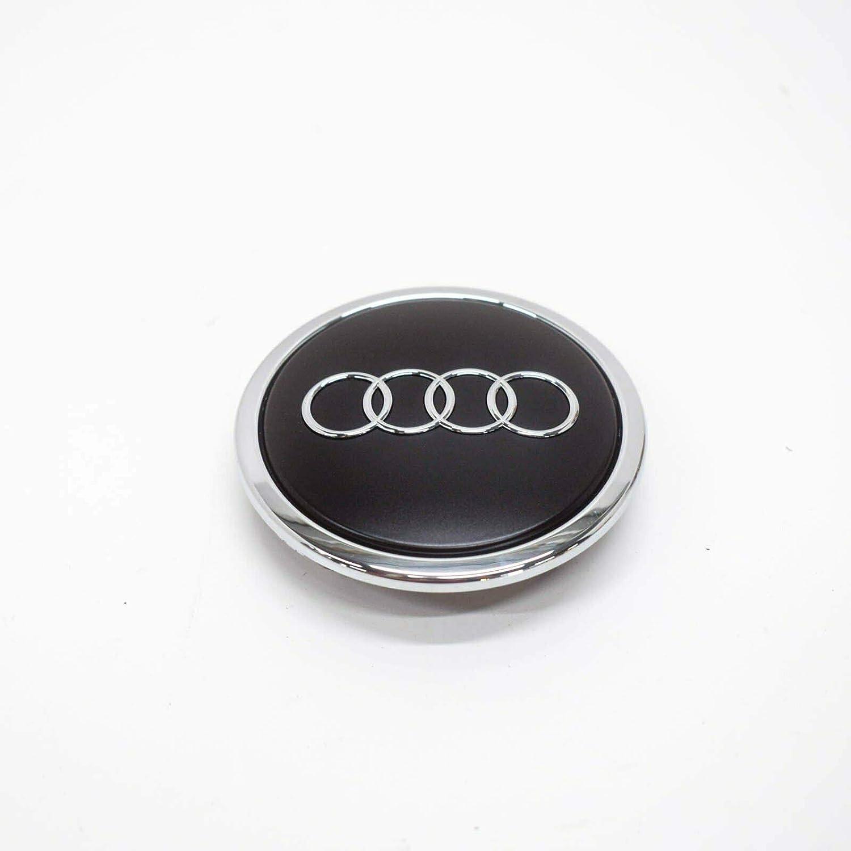 Radzierkappe Original Audi Nabenkappe Tuning Deckel Für Alufelgen Schwarz Matt Auto