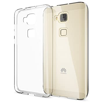 NALIA Funda Carcasa Compatible con Huawei G8 GX8, Protectora Movil TPU Silicona Ultra-Fina Gel Transparente Telefono Cubierta, Goma Bumper Smart-Phone ...