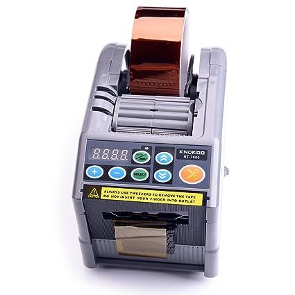 Función de memoria de Knokoo 220V Automático Paquete Scotch Dispensador de cinta adhesiva RT-7000