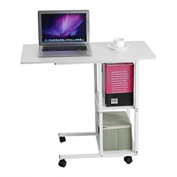 office desk laptop computer notebook mobile. Interesting Office Over Bed Table Rolling Table Portable Notebook Desk Sofa Side  Nursing Reading For Office Laptop Computer Mobile A