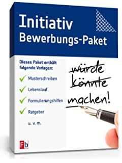 Anschreiben Bewerbung Initiativbewerbung [Word Dokument]: Amazon.de ...