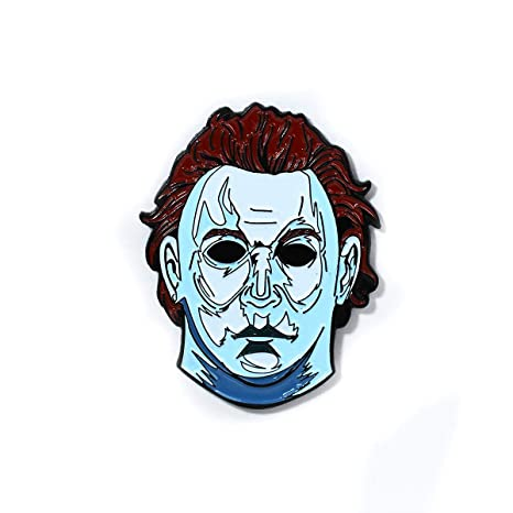 Pin de máscara de Michael Myers para Halloween: Amazon.es ...