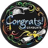 Chalkboard Graduation Dessert Plates, 8ct
