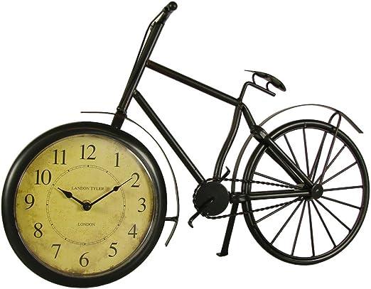 INtrenDU® Descuento. Reloj De Mesa Chimenea Reloj London Bicicleta ...