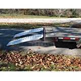 Five Star Aluminum Ramp Set For Trailers, USA - 60in.L x 16in.W, 10,000-Lb. Capacity