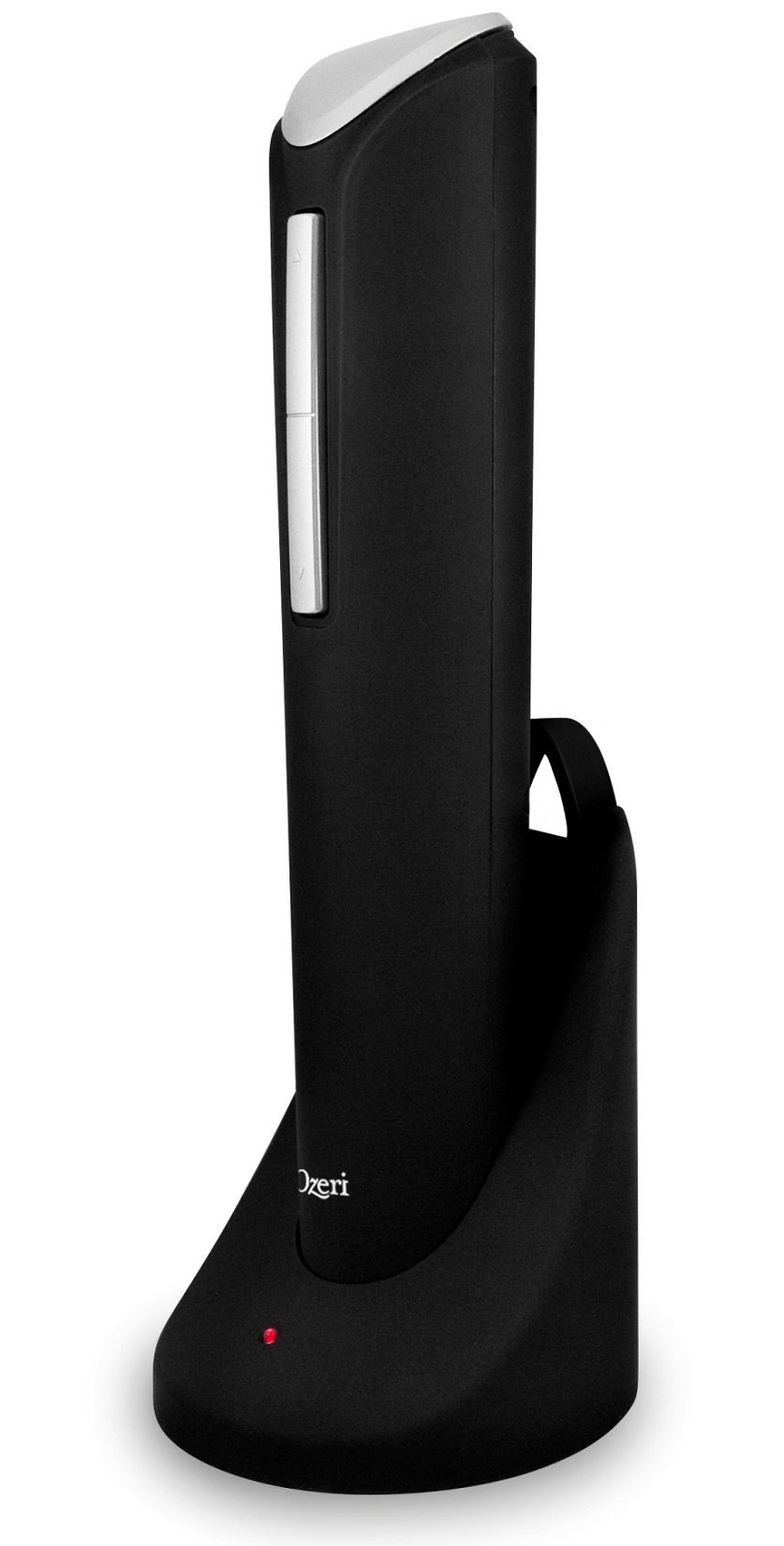 Ozeri Pro Electric Wine Opener with Wine Pourer, Stopper and Foil Cutter, in Black by Ozeri (Image #3)