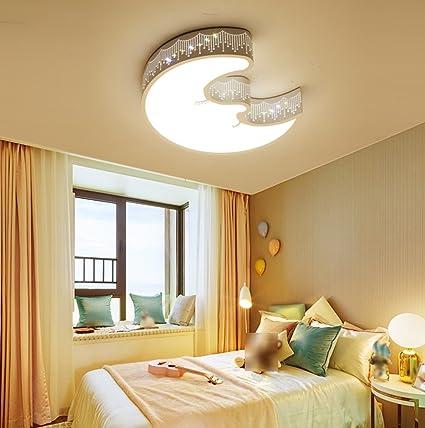 LWYXDD DFHHG® Niños Dormitorio lámparas de Techo, niña ...