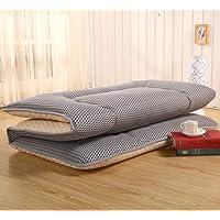 Respirabilité 4 D Mesh Dormir Futon Topper Matelas, Folding Tatami sur-Matelas Couverture Coussin Rouleau De Lit Japonais pour Stdudent Dorm Accueil Méditation