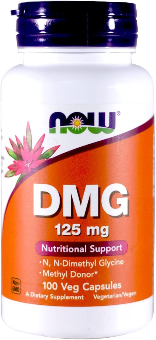 NOW Foods – DMG 125 mg 100 caps Pack of 3