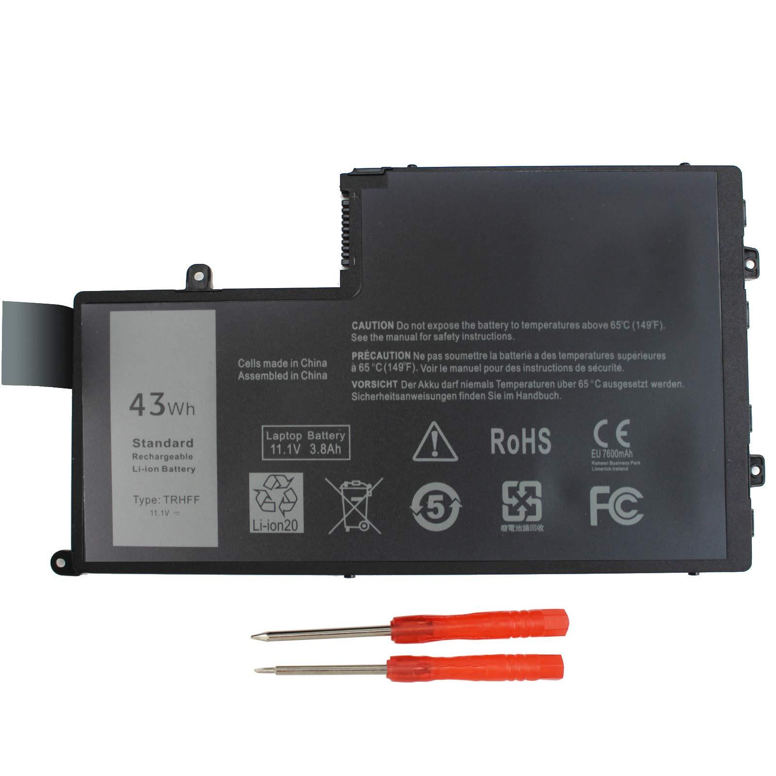 Bateria 11.1v 43wh Trhff Para Dell Inspiron 14-5447 15-5547 Dell Latitude 14 3450 15 3550 1v2f6 Dl011307-prr13g01 01v2f6
