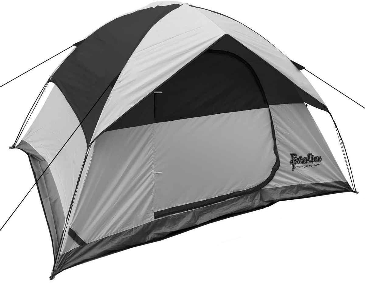 PahaQue Rendezvous Dome Tent Grey Blk 4p PQF200