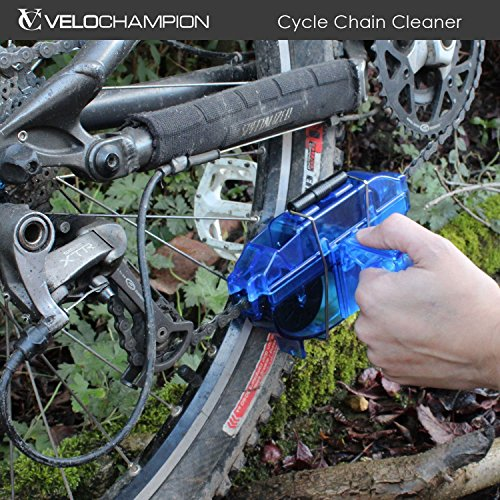 velochampion 1301  : VeloChampion Bike Chain Cleaner - for All Types of ...
