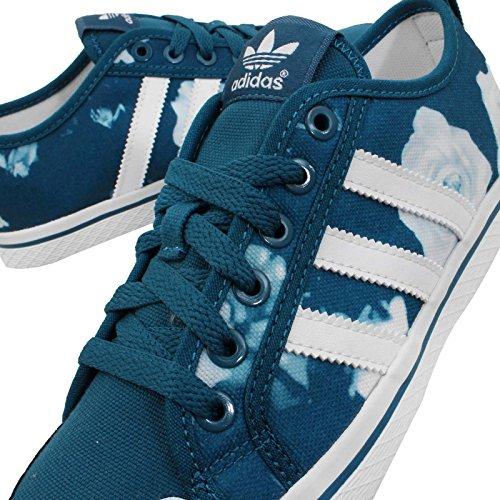 Número Azul De 1 Tiras Zapatos Deportivas Rosa D65970 Miel 3; Color Zapato Lona Adidas Originals Blanco gq4PYY