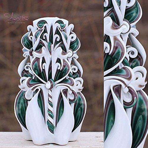 Amazon Com Luxury Home Interior Decoration Handmade Carved Candle