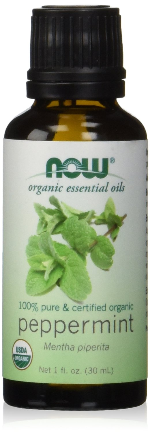 Now Organic Peppermint Essential Oil