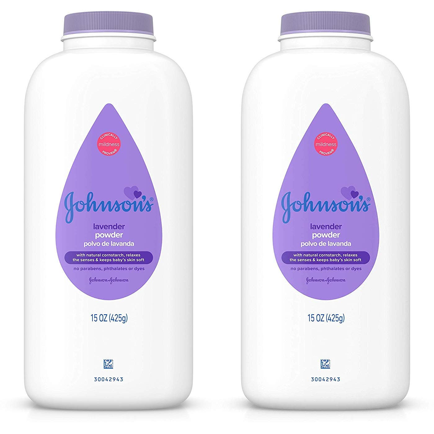 Johnson's Baby Powder, Lavender 15 oz (425 g)(pack of 2) by Johnson's Baby