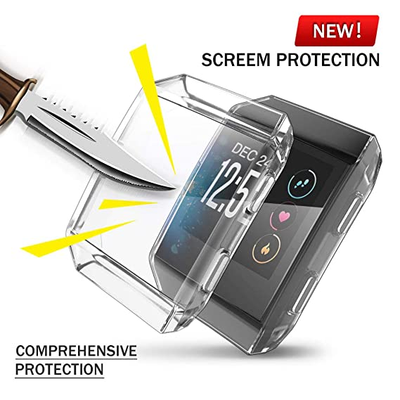 Home Supply Anti-scratch Soft Tpu Clear Pc Protective Shell Guard For Fitbit Charge 3 Smart Wristband Case Touch Screen Protector Cover