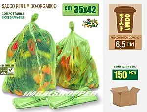 Bolsas para húmedo y materia orgánica biodegradable y ...