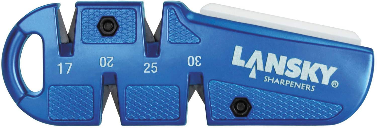 Lansky QuadSharp Hunting Knife Sharpener