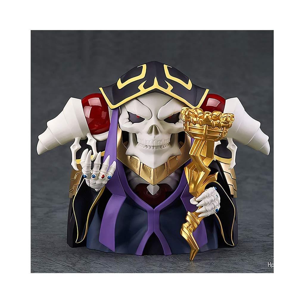 CCJW Personaggi del Modello di Anime Bacchetta a Mano Clay Uomo Re dei Non Morti Mini Personaggio Giocattolo Ornamenti Regali Regali di Festa Collezione di Artigianato Souvenir (Circa 10 cm)