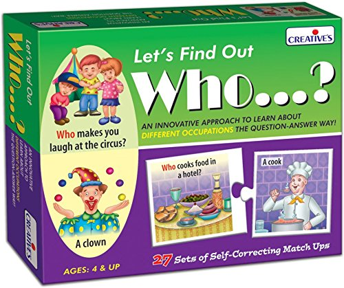 Creative Educational Creative Pre-School Let's Find Out Who?