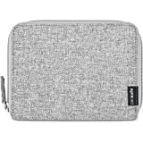 Pacsafe RFIDsafe LX150 Anti-Theft RFID Blocking Passport Wallet, Tweed Grey