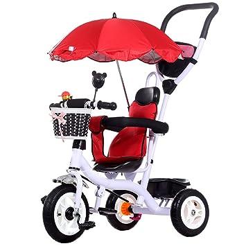 Carros para Niños Triciclos Bicicletas 1-3-5 Años Cochecito De Bebé ...