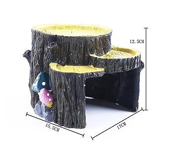 XCXpj - Adornos para Acuario, Diseño de pecera con Seta en casa para pecera de