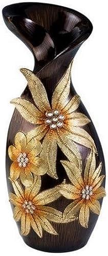 OK Lighting Golden Art Demeter Decorative Vase