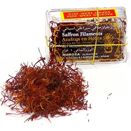 ALTAJ SAFFRON Pure & Genuine Natural Spanish Saffron, La Mancha' Category I, Filaments from Albace - 0.03 oz (Pack of 3)